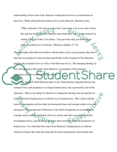 Acceptance essay examples
