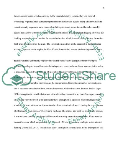 to what extent is internet banking safe essay example  topics and  to what extent is internet banking safe