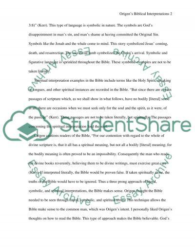 Christianity Reading Response essay essay example