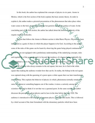 Book Review: Six Easy Pieces essay example