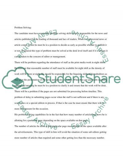 Employee Resourcing College Essay essay example