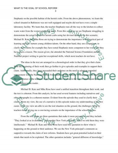 Analytic Essay essay example