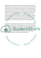 An investigation of the relationship between CSR strategies and public affairs in Hungary Essay example