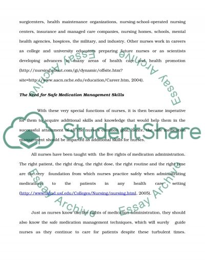 Comcept Analysis Topic Compliance in Nursing and allied Healthcare essay example