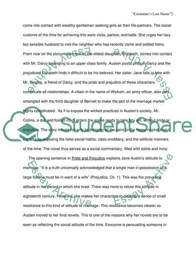 Fahrenheit 451 Essay Thesis Social Commentarycriticism In Pride  Prejudice Essay On Science And Society also Private High School Admission Essay Examples Social Commentarycriticism In Pride  Prejudice Essay Essays About Business