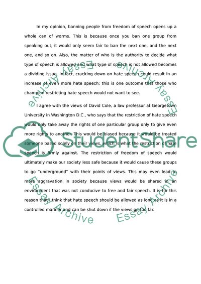 Hate Speech Essays: Examples, Topics, Titles, & Outlines