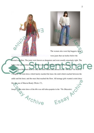 Fashion in Pop Culture essay example