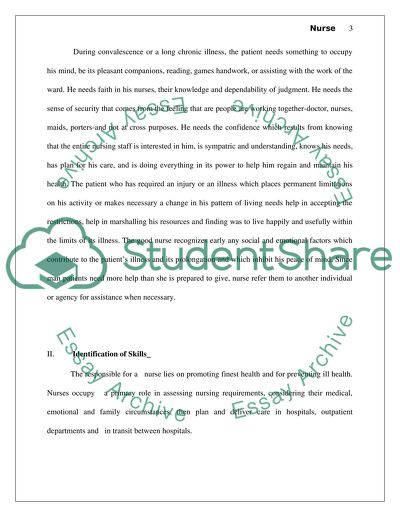 Goal Setting Nursing Enablement Practice Essay