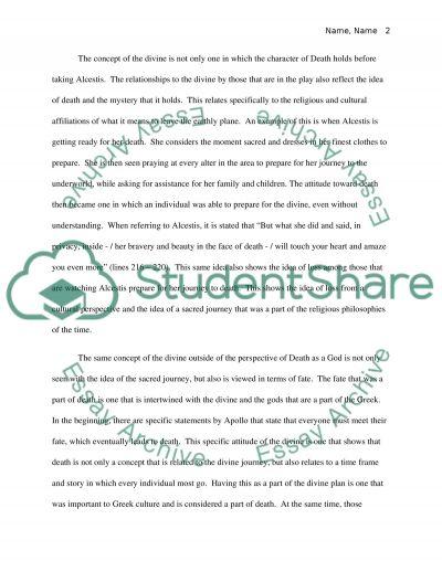 Mythology essay example