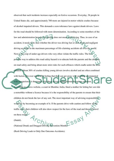 Online essay from