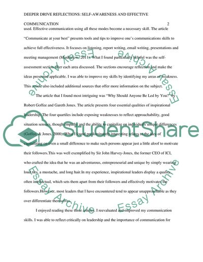 Selfawareness And Effective Communication Essay Selfawareness And Effective Communication Topics For Essays In English also Essay On English Language  Proposal Argument Essay Topics