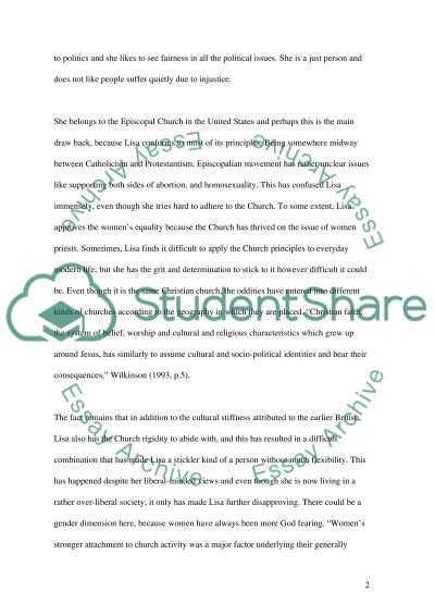 Compare and Contrast two cultures essay example