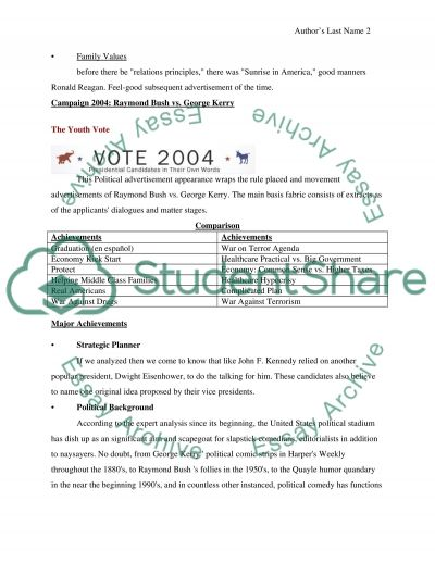Creating Ad Campaign essay example