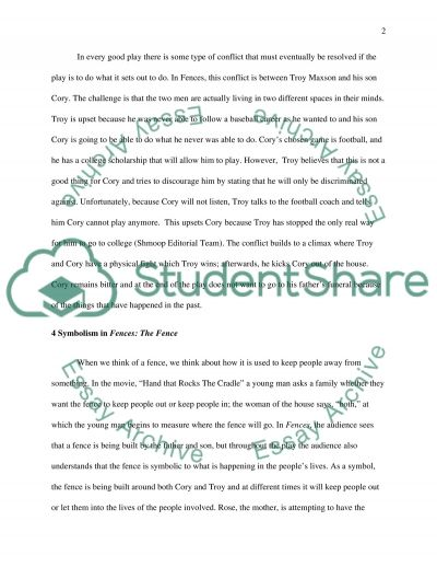 symbolism in wilson s fences research paper symbolism in wilsons fences essay example