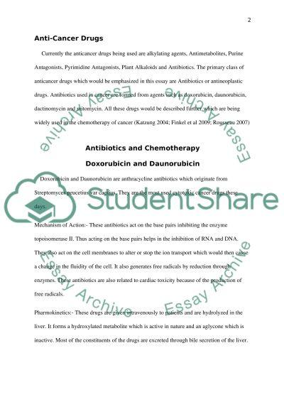 chemotherapy and antibiotics essay example topics and well chemotherapy and antibiotics essay example