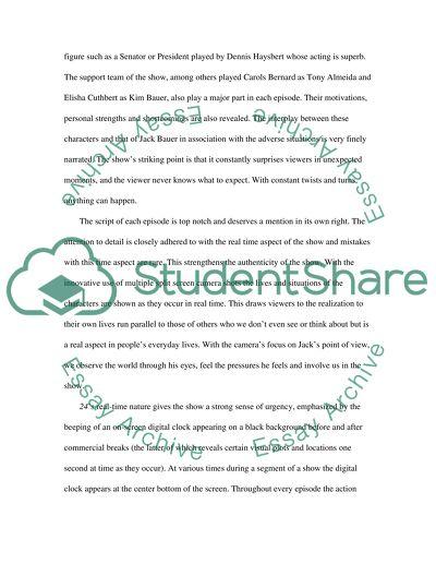 Media High School Essay