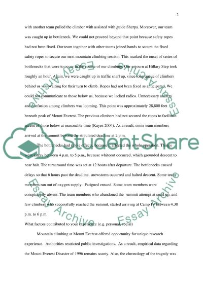 Effective Team and Performance Management essay example
