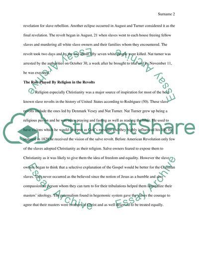 denmark vesey essay