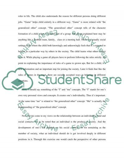 Symbolic interaction essay example