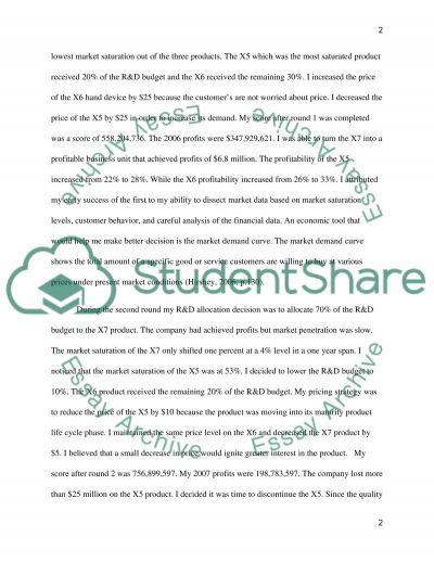 PDA SIM essay example