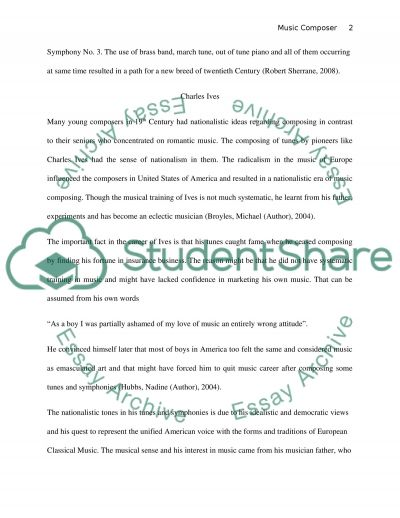 Major works of Western classic music essay example