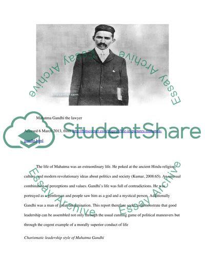 Leadership Exhibition (Mahatma Ghandi