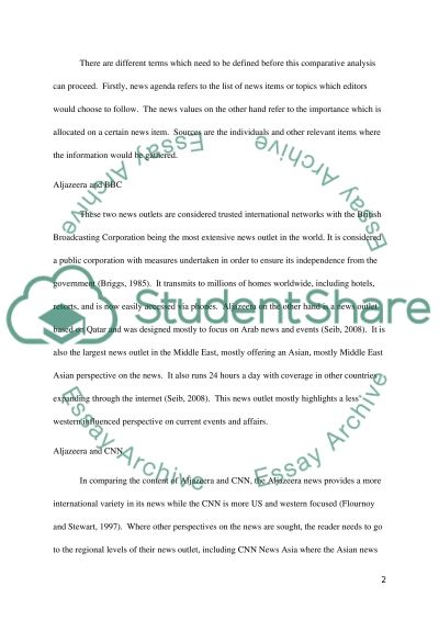 Content Analysis Essay example