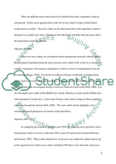 Content Analysis essay example