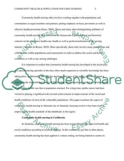 Term paper about nursing