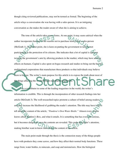 Life Changing Chemicals Essay Example  Topics And Well Written  Life Changing Chemicals Buy Powerpoint Slides also Research Paper Samples Essay  Essay Samples For High School