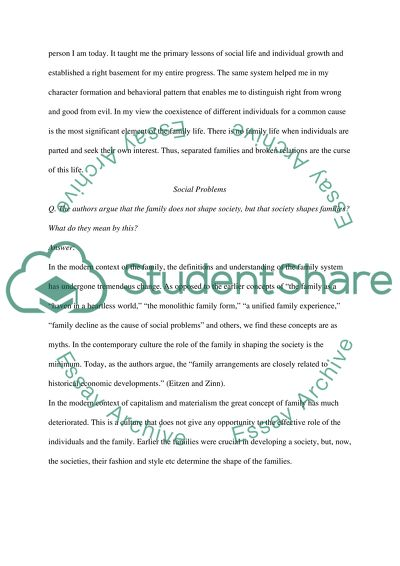Social Problems Essay Example  Topics And Well Written Essays    Social Problems