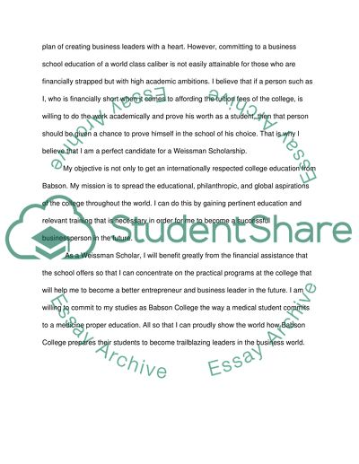 Experience education at Babson College