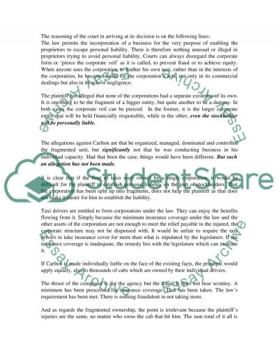 Business Law #5 essay example