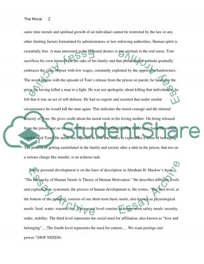 Essay Writing Global Warming The Moral Development Of Tom Joad In The Grapes Of Wrath Why I Want To Be A Nurse Essay also Cover Letter Essay The Moral Development Of Tom Joad In The Grapes Of Wrath Essay Rousseau Essay