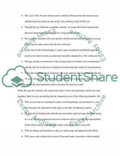 CASE STUDY tree essay example