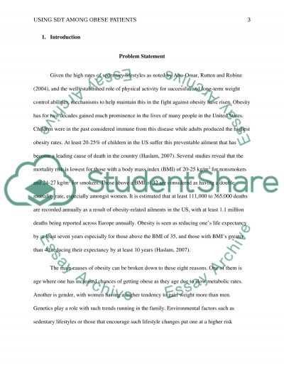 Applying Self-Determination Theory to Patients with Diabetes essay example