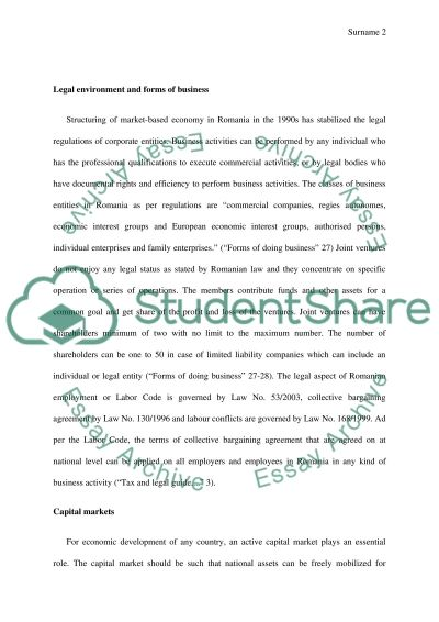 International accounting essay example