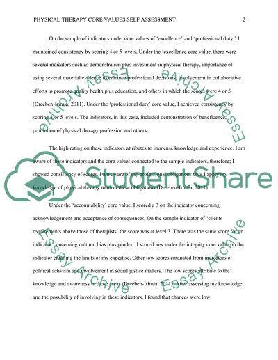 Essays on values
