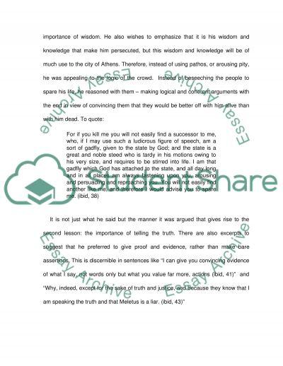 platos view on lying essay