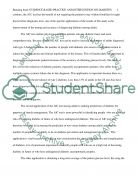 AIC test and diabetes Essay example
