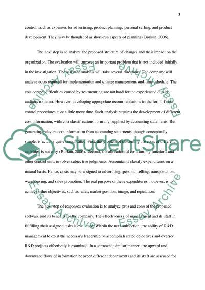 Boardman Management RFP Assesment essay example