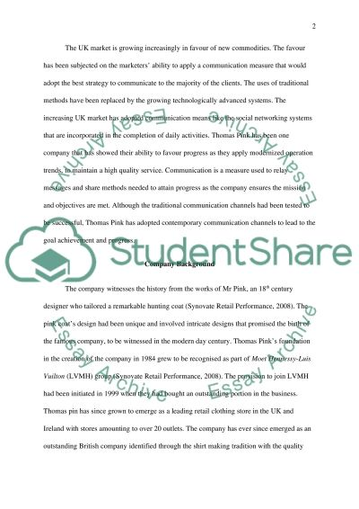 Communications strategy essay example