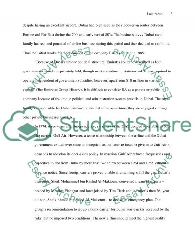 Airline marketing essay example