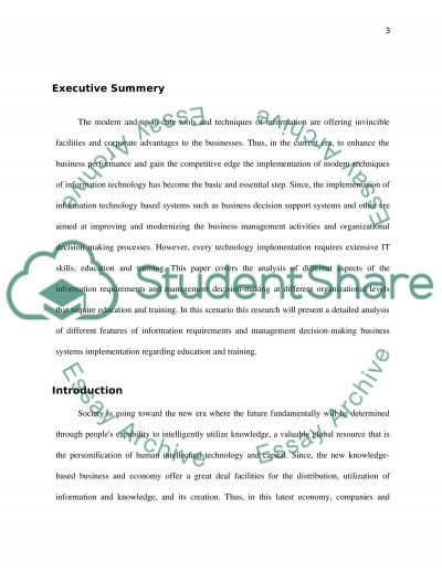 SYSTEM MANAGEMENT essay example