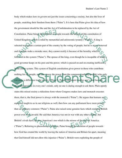 Primary source essay