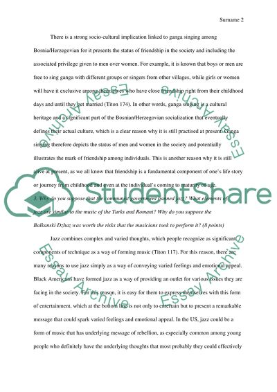 Chapter 5 Essay