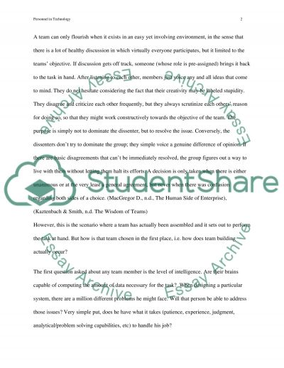 Effective Technology Support Team essay example