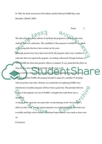 Behind child essay left no