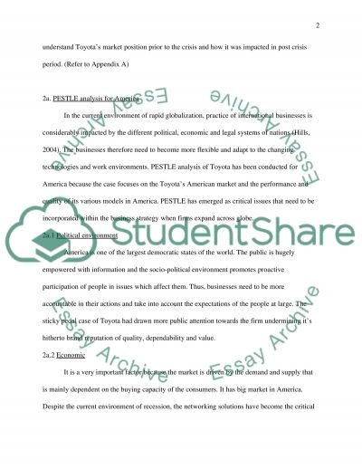 Corporate Communication Strategy-Toyota case essay example