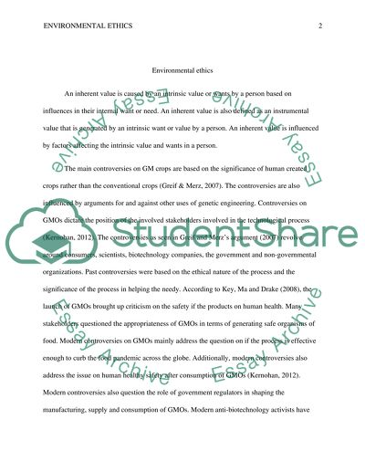 Analytical Essay Thesis Example Environmental Ethics  Essay Example Essay Thesis also Simple Essays For High School Students Environmental Ethics Essay Example  Topics And Well Written Essays  Japanese Essay Paper